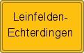 Wappen Leinfelden-Echterdingen