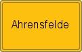 Wappen Ahrensfelde