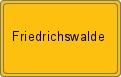 Wappen Friedrichswalde