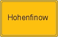 Wappen Hohenfinow