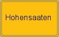 Wappen Hohensaaten