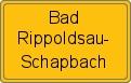 Wappen Bad Rippoldsau-Schapbach