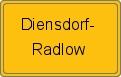 Wappen Diensdorf-Radlow