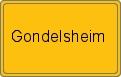 Wappen Gondelsheim