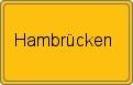 Wappen Hambrücken