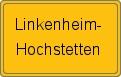 Wappen Linkenheim-Hochstetten