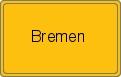 Ortsschild von Bremen