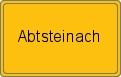 Wappen Abtsteinach
