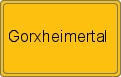 Wappen Gorxheimertal