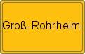 Wappen Groß-Rohrheim