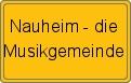 Wappen Nauheim - die Musikgemeinde