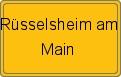 Wappen Rüsselsheim am Main