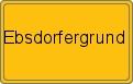 Wappen Ebsdorfergrund