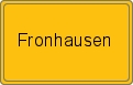 Wappen Fronhausen