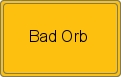 Ortsschild Bad Orb