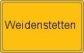 Wappen Weidenstetten