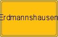 Wappen Erdmannshausen