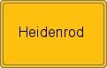 Wappen Heidenrod