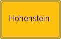 Wappen Hohenstein