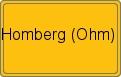 Wappen Homberg (Ohm)