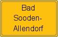 Wappen Bad Sooden-Allendorf