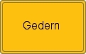 Wappen Gedern