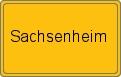 Wappen Sachsenheim