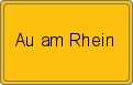 Wappen Au am Rhein