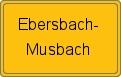 Wappen Ebersbach-Musbach