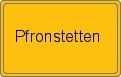 Wappen Pfronstetten