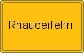 Wappen Rhauderfehn
