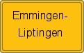 Wappen Emmingen-Liptingen