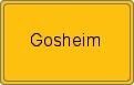 Wappen Gosheim