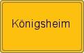 Wappen Königsheim