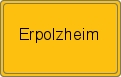 Wappen Erpolzheim