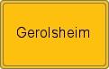 Wappen Gerolsheim
