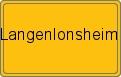Wappen Langenlonsheim