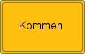 Wappen Kommen