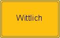 Ortsschild Wittlich