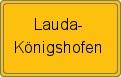Wappen Lauda-Königshofen
