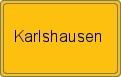 Wappen Karlshausen