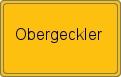 Wappen Obergeckler
