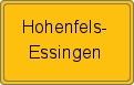 Wappen Hohenfels-Essingen