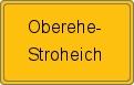 Wappen Oberehe-Stroheich