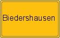 Wappen Biedershausen
