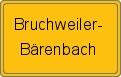 Wappen Bruchweiler-Bärenbach