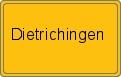 Wappen Dietrichingen
