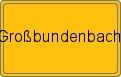 Wappen Großbundenbach