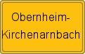 Wappen Obernheim-Kirchenarnbach