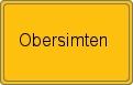 Wappen Obersimten